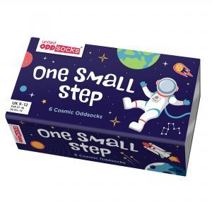 Oddsocks Kids Space Socks Set of 6 Size 9-12 UK