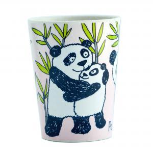 Panda Bamboo Beaker