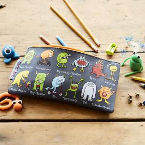 Monsters Design Pencil Case