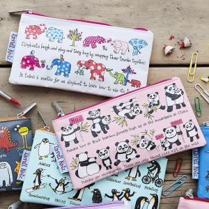 Pandas  Design Pencil Case