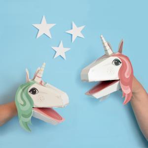 Create Unicorn Puppets