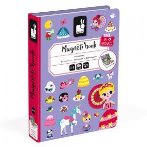 Princesses Magnetic Book
