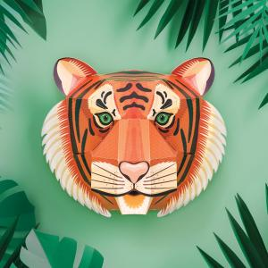 Create a Majestic Tiger Head