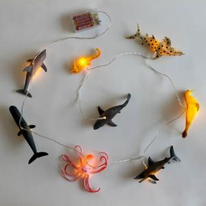 House of Disaster Sea Creatures String Lights