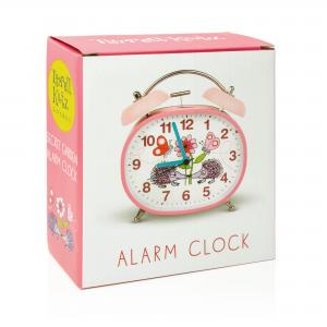 Secret Garden Children's Alarm Clock · Twin Bell · Silent Tick
