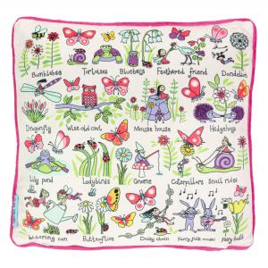 Secret Garden Plush Cushion