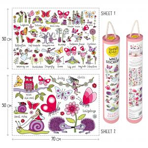 Secret Garden Wall Stickers