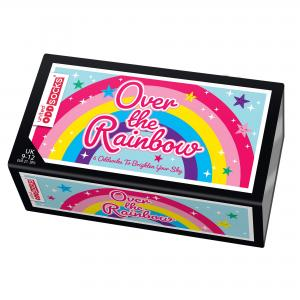 Oddsocks Over the Rainbow Set of 6 Size 9-12 UK