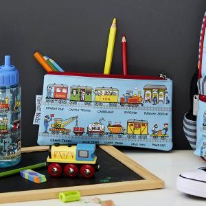 Trains Design Pencil Case