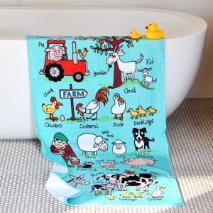 Farm Children's Towel
