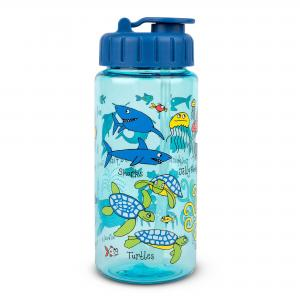 Ocean Drinking Bottle With Straw