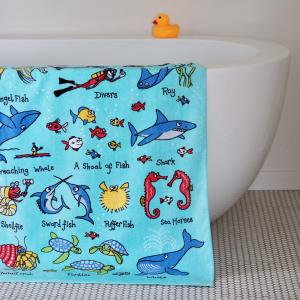 Ocean Design Towel