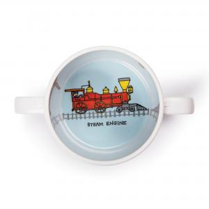 Trains Design Melamine Training Cup