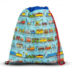 Trains Design Children's Kitbag