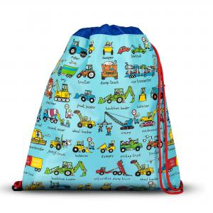 Trucks Design Children's Kitbag