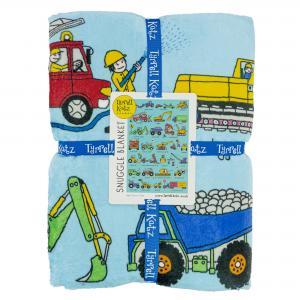 Trucks  Snuggle Blanket