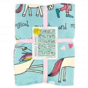 Unicorns Snuggle Blanket