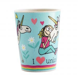 Unicorn Bamboo Children's Beaker