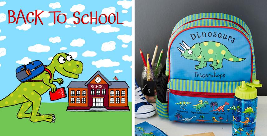 Tyrrell Katz Back to School Dinosaur
